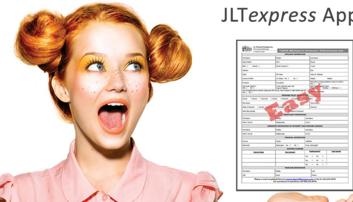 JLTexpress App Easiest way to write term life insurnace